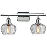 Polished Chrome Fenton Bathroom Vanity Lights