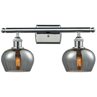 Innovations Lighting 516-2W-PC-G93 Fenton 2 Light 16 inch Polished Chrome Bathroom Fixture Wall Light