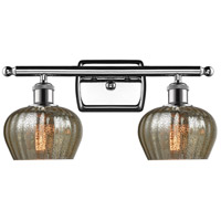 Innovations Lighting 516-2W-PC-G96 Fenton 2 Light 16 inch Polished Chrome Bathroom Fixture Wall Light