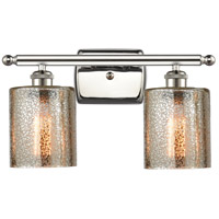 Innovations Lighting 516-2W-PN-G116-LED Cobbleskill LED 16 inch Polished Nickel Bath Vanity Light Wall Light Ballston