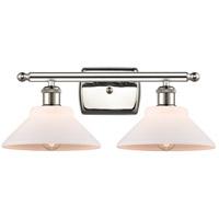 Innovations Lighting 516-2W-PN-G131-LED Orwell LED 18 inch Polished Nickel Bath Vanity Light Wall Light, Ballston