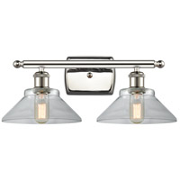 Innovations Lighting 516-2W-PN-G132-LED Orwell LED 18 inch Polished Nickel Bath Vanity Light Wall Light Ballston