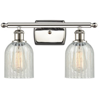 Innovations Lighting 516-2W-PN-G2511-LED Caledonia LED 16 inch Polished Nickel Bath Vanity Light Wall Light Ballston