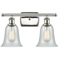 Innovations Lighting 516-2W-PN-G2812 Hanover 2 Light 16 inch Polished Nickel Bath Vanity Light Wall Light Ballston