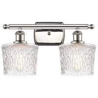 Innovations Lighting 516-2W-PN-G402 Niagra 2 Light 16 inch Polished Nickel Bath Vanity Light Wall Light Ballston