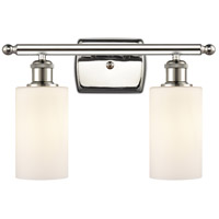 Polished Nickel Clymer Bathroom Vanity Lights