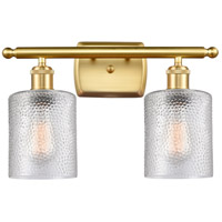 Innovations Lighting 516-2W-SG-G112-LED CoSGleskill LED 16 inch Satin Gold Bath Vanity Light Wall Light Ballston