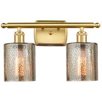 Innovations Lighting 516-2W-SG-G116 CoSGleskill 2 Light 16 inch Satin Gold Bath Vanity Light Wall Light Ballston