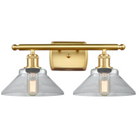Satin Gold Orwell Bathroom Vanity Lights