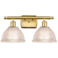 Innovations Lighting 516-2W-SG-G422 Arietta 2 Light 16 inch Satin Gold Bath Vanity Light Wall Light Ballston