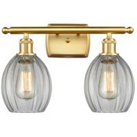 Innovations Lighting 516-2W-SG-G82 Eaton 2 Light 16 inch Satin Gold Bath Vanity Light Wall Light Ballston