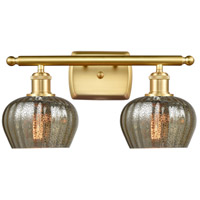 Innovations Lighting 516-2W-SG-G96-LED Fenton LED 16 inch Satin Gold Bath Vanity Light Wall Light Ballston