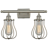 Satin Nickel Brass Bathroom Vanity Lights