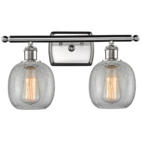 Satin Nickel Belfast Bathroom Vanity Lights