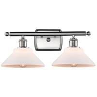 Innovations Lighting 516-2W-SN-G131-LED Orwell LED 18 inch Brushed Satin Nickel Bath Vanity Light Wall Light Ballston