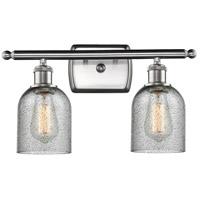 Innovations Lighting 516-2W-SN-G257-LED Caledonia LED 16 inch Brushed Satin Nickel Bathroom Fixture Wall Light