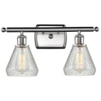 Innovations Lighting 516-2W-SN-G275 Conesus 2 Light 16 inch Brushed Satin Nickel Bathroom Fixture Wall Light