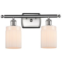 Innovations Lighting 516-2W-SN-G341-LED Hadley LED 16 inch Satin Nickel Bath Vanity Light Wall Light Ballston