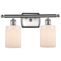 Innovations Lighting 516-2W-SN-G341-LED Hadley LED 16 inch Brushed Satin Nickel Bath Vanity Light Wall Light Ballston