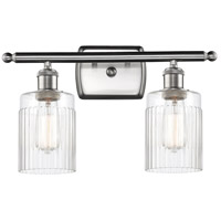 Innovations Lighting 516-2W-SN-G342-LED Hadley LED 16 inch Satin Nickel Bath Vanity Light Wall Light Ballston