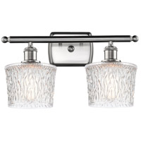 Innovations Lighting 516-2W-SN-G402 Niagra 2 Light 16 inch Satin Nickel Bath Vanity Light Wall Light Ballston