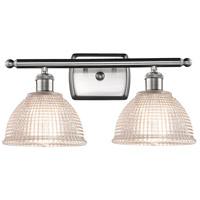 Innovations Lighting 516-2W-SN-G422 Arietta 2 Light 16 inch Satin Nickel Bath Vanity Light Wall Light Ballston
