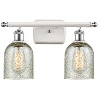 Innovations Lighting 516-2W-WPC-G259-LED Caledonia LED 16 inch White And Polished Chrome Bath Vanity Light Wall Light Ballston