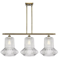 Innovations Lighting 516-3I-AB-G212 Springwater 3 Light 36 inch Antique Brass Island Light Ceiling Light Ballston