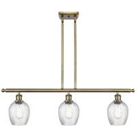 Innovations Lighting 516-3I-AB-G292 Salina 3 Light 36 inch Antique Brass Island Light Ceiling Light Ballston