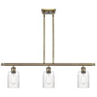 Innovations Lighting 516-3I-AB-G342 Hadley 3 Light 36 inch Antique Brass Island Light Ceiling Light Ballston