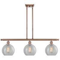 Antique Copper Athens Island Lights