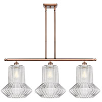 Innovations Lighting 516-3I-AC-G212 Springwater 3 Light 36 inch Antique Copper Island Light Ceiling Light Ballston