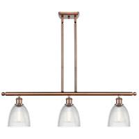 Innovations Lighting 516-3I-AC-G382-LED Castile LED 36 inch Antique Copper Island Light Ceiling Light Ballston