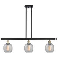 Innovations Lighting 516-3I-BAB-G105-LED Belfast LED 36 inch Black Antique Brass Island Light Ceiling Light, Ballston