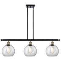 Innovations Lighting 516-3I-BAB-G122-LED Athens LED 36 inch Black Antique Brass Island Light Ceiling Light Ballston
