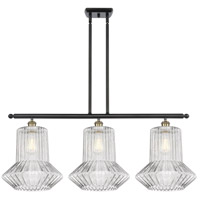 Innovations Lighting 516-3I-BAB-G212 Springwater 3 Light 36 inch Black Antique Brass Island Light Ceiling Light Ballston