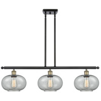 Innovations Lighting 516-3I-BAB-G247 Gorham 3 Light 36 inch Black Antique Brass Island Light Ceiling Light Ballston