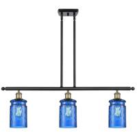 Innovations Lighting 516-3I-BAB-G352-BL-LED Candor LED 36 inch Black Antique Brass Island Light Ceiling Light, Ballston