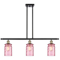 Innovations Lighting 516-3I-BAB-G352-LIL Candor 3 Light 36 inch Black Antique Brass Island Light Ceiling Light Ballston