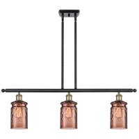 Innovations Lighting 516-3I-BAB-G352-TOF-LED Candor LED 36 inch Black Antique Brass Island Light Ceiling Light, Ballston