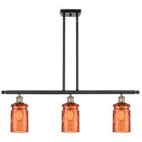 Innovations Lighting 516-3I-BAB-G352-TUR Candor 3 Light 36 inch Black Antique Brass Island Light Ceiling Light, Ballston