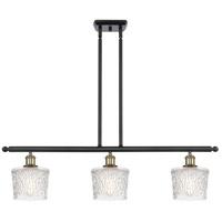 Innovations Lighting 516-3I-BAB-G402 Niagra 3 Light 36 inch Black Antique Brass Island Light Ceiling Light Ballston