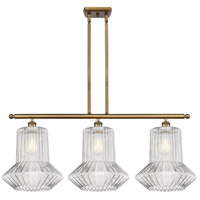 Innovations Lighting 516-3I-BB-G212 Springwater 3 Light 36 inch Brushed Brass Island Light Ceiling Light Ballston