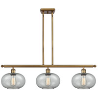 Innovations Lighting 516-3I-BB-G247 Gorham 3 Light 36 inch Brushed Brass Island Light Ceiling Light Ballston