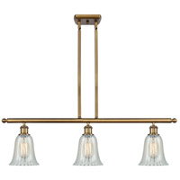 Innovations Lighting 516-3I-BB-G2811 Hanover 3 Light 36 inch Brushed Brass Island Light Ceiling Light Ballston