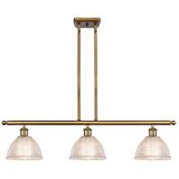 Innovations Lighting 516-3I-BB-G422 Arietta 3 Light 36 inch Brushed Brass Island Light Ceiling Light Ballston