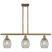 Innovations Lighting 516-3I-BB-G82 Eaton 3 Light 36 inch Brushed Brass Island Light Ceiling Light Ballston