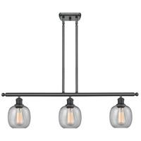 Innovations Lighting 516-3I-BK-G104-LED Belfast LED 36 inch Matte Black Island Light Ceiling Light, Ballston