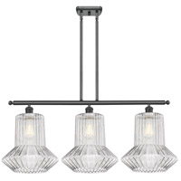 Innovations Lighting 516-3I-BK-G212 Springwater 3 Light 36 inch Matte Black Island Light Ceiling Light Ballston