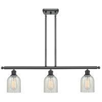 Innovations Lighting 516-3I-BK-G2511-LED Caledonia LED 36 inch Matte Black Island Light Ceiling Light Ballston
